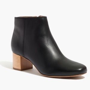 Madewell Lucien booties 8.5